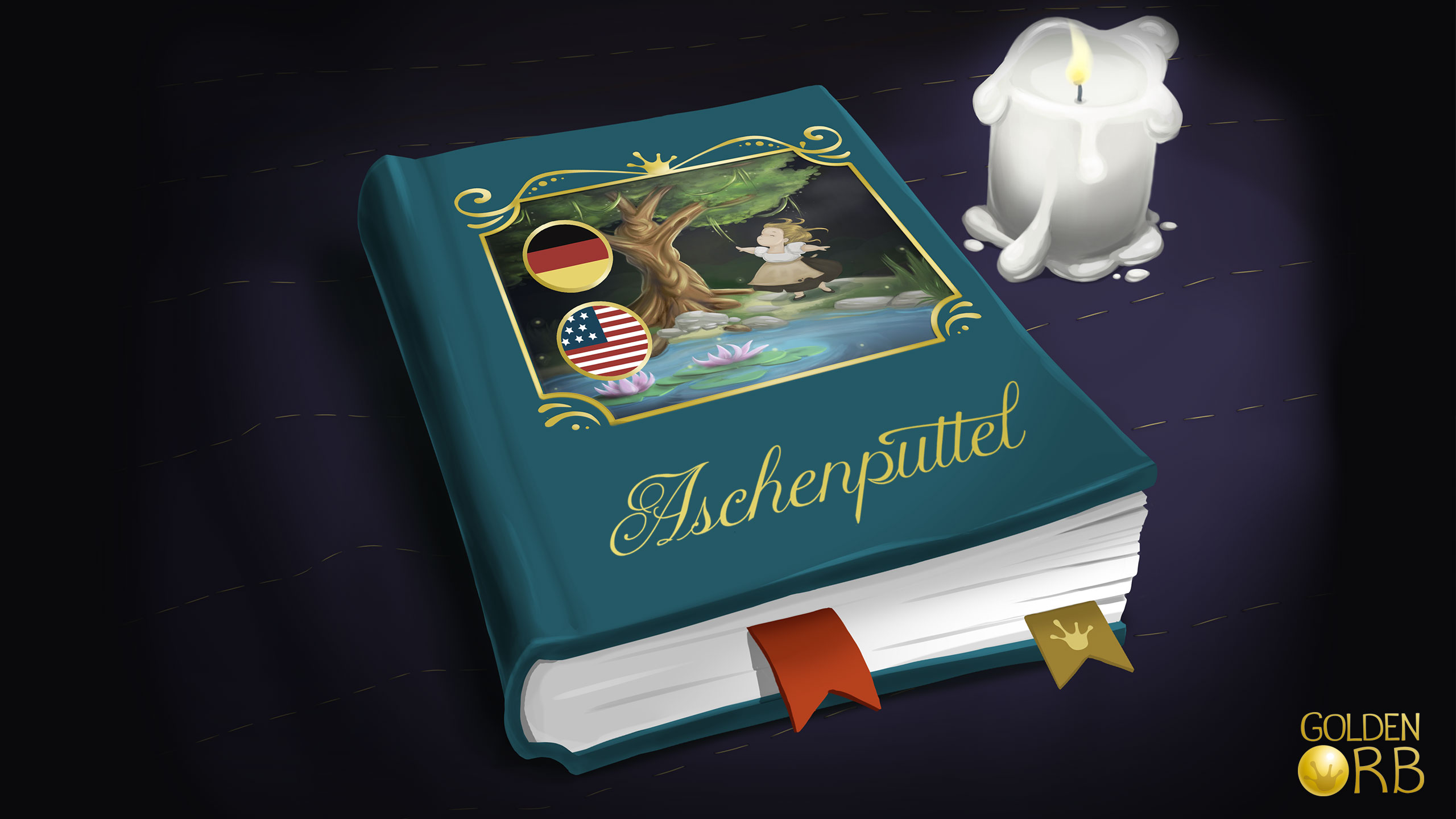 Aschenputtel Märchenbuch
