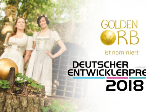Nomination Deutscher Entwicklerpreis