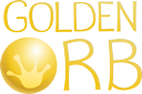 Golden Orb – Enchanting Games Logo